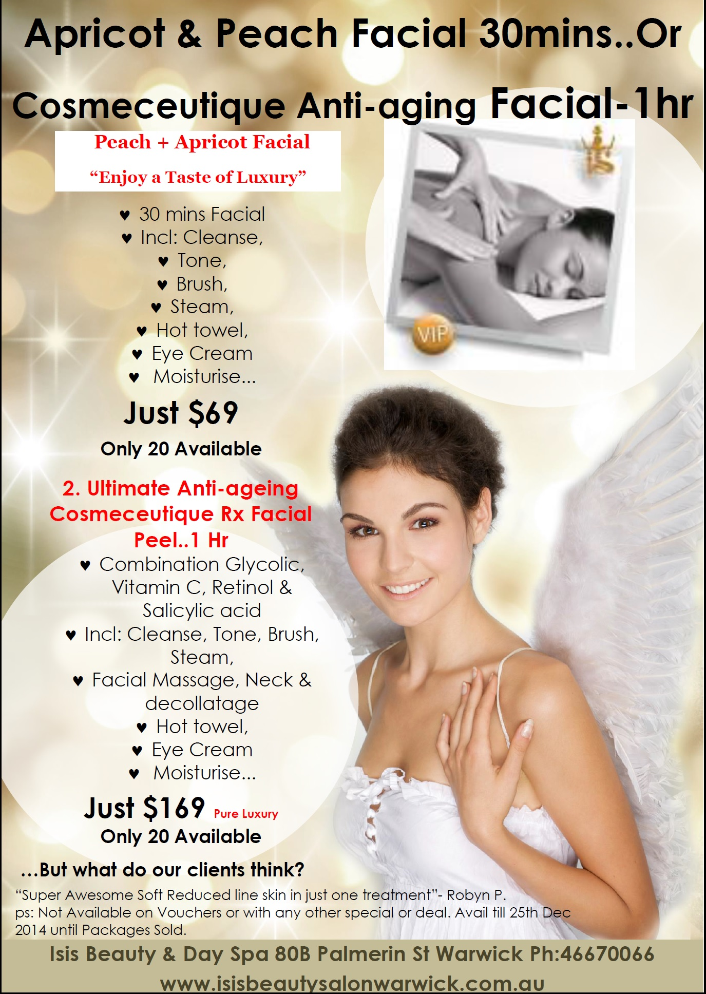 Salons Specials Isis Beauty And Day Spa